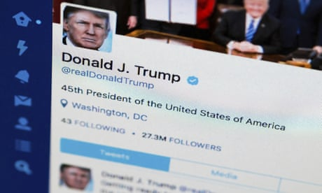 Trump's erratic early morning Twitter retweets include one calling him fascist