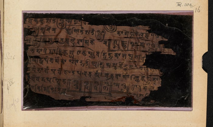 Much Ado About Nothing Ancient Indian Text Contains Earliest Zero