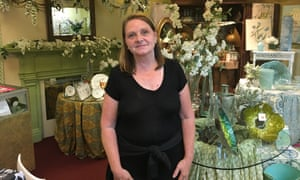 Carolyn Tolley, owner of University Florist.