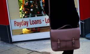 A payday loans sign