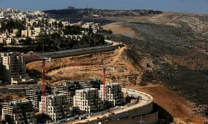 The Israeli settlement of Ramot in the occupied West Bank.