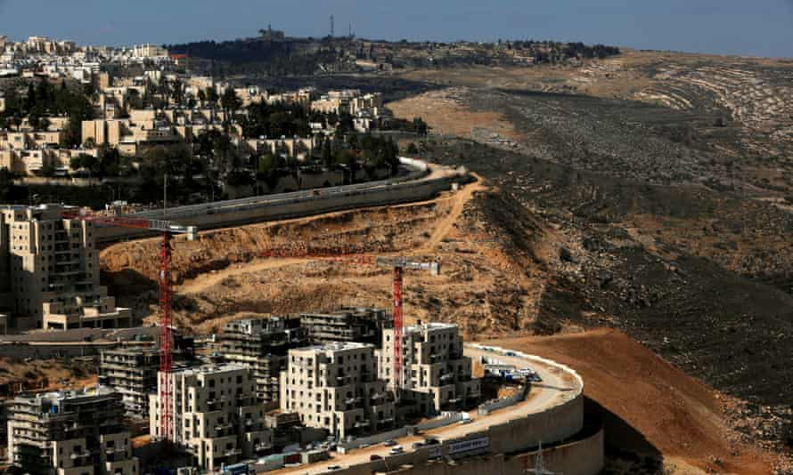 The Israeli settlement of Ramot in an area of the occupied West Bank.