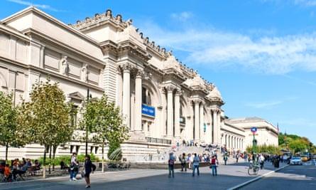 The Metropolitan Museum of Art in New York City.