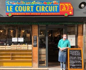 Le Court Circuit farm shop, Belleville, Paris