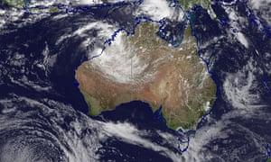 Radar image of Tropical Cyclone Blake on 7 January