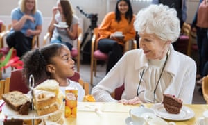 In Channel 4's Old People's Homes for 4 Year Olds, residents of Bristol-based St Monica Trust were found to have improved mood, mobility and memory after spending six weeks with children.