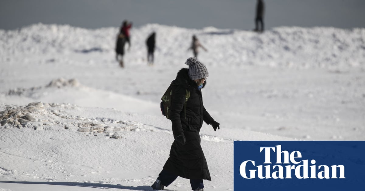 Climate crisis likely creating extreme winter weather events, says report