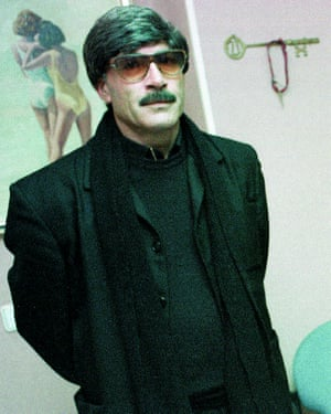 Francisco Holgado in the disguise he used to infiltrate Jerez's criminal underworld