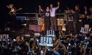 Willie Nelson joins Beto O'Rourke at campaign rally in Austin, Texas, on Saturday.