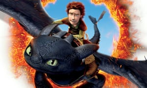 Toothless and Hiccup from the film adaptation of How to Train Your Dragon.