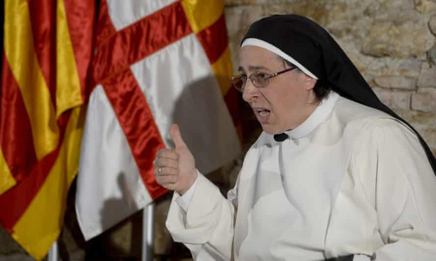 Sister Lucía Caram created a storm by saying: 'I think Mary was in love with Joseph and that they were a normal couple – and having sex is a normal thing.'
