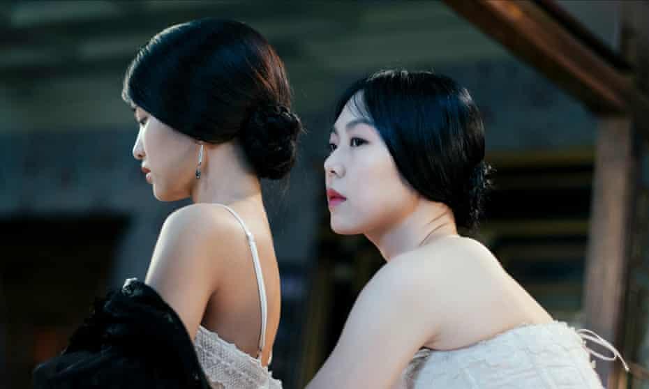 Outstanding performances … Kim Tae-ri and Kim Min-hee.
