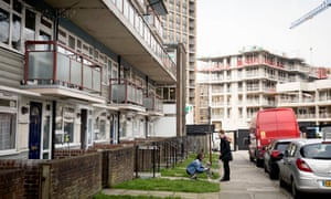 West Hendon is the site of a fiercely contested regeneration scheme.