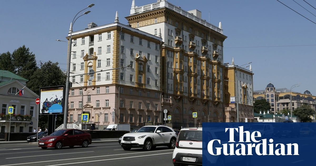 US warns Moscow embassy could stop functioning in row over visas