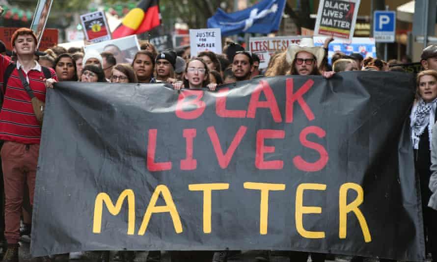 Blak Lives Matter protest