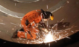 Small firms and manufacturers have reported a dip in confidence.
