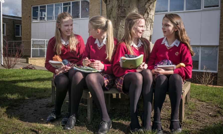 Pupils at the Weald of Kent grammar school in Tonbridge. Approval for the school to build an extension nine miles away in Sevenoaks was given last year.
