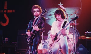 'I wonder how many people have been buried to it' … Blue Öyster Cult's Eric Bloom, left, and Donald Roeser in 1977.