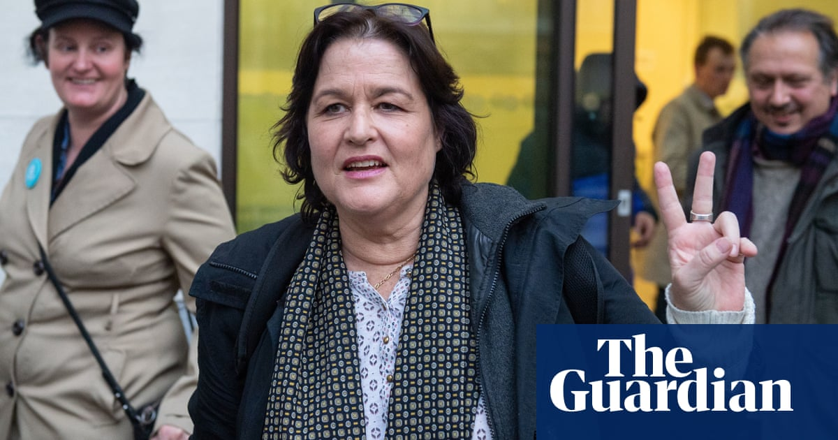 English nationalist MP candidate found guilty of harassing Anna Soubry
