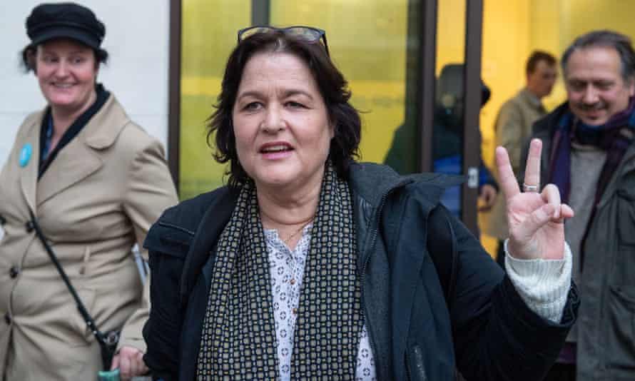 Amy Dalla Mura leaving court on Wednesday.