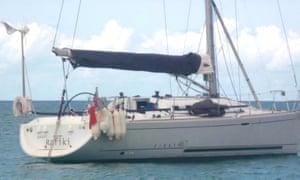 The Cheeki Rafiki yacht