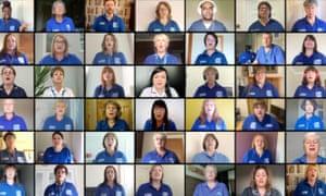Hull NHS Choir has been running weekly online sessions for members during the coronavirus lockdown.