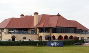 Portrush clubhouse