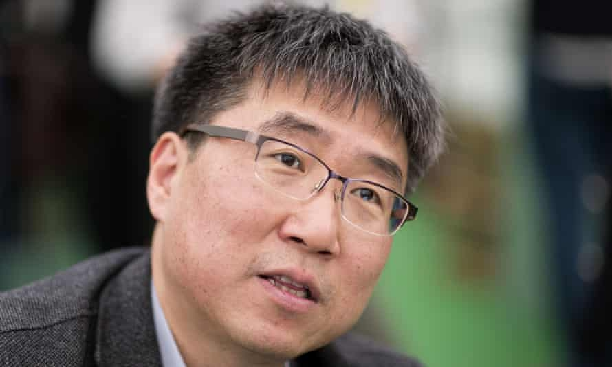Ha-Joon Chang, pictured at the Hay-on-Wye festival, Wales.