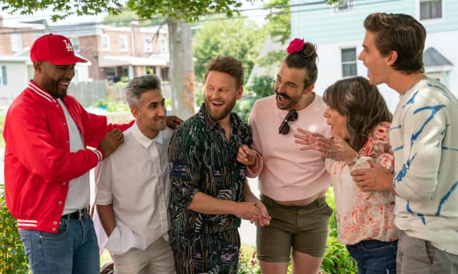 Queer Eye season 5 ... 'It seems churlish to object to a show as wholesome as this on the grounds that there is too much of it.'