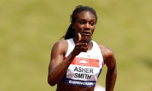 Dina Asher-Smith is training six days a week while studying for a history degree before the 2017 London world championships .