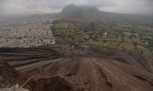 Izatapalapa seen from Molcajete hill