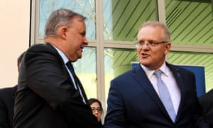 In the latest Guardian Essential poll 49% approve of Scott Morrison while 36% give Anthony Albanese the thumbs up.