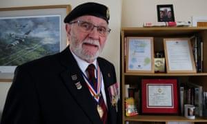George Batts, former national secretary of the Normandy Veterans' Association