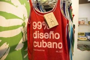 The Clandestina shop in Havana.