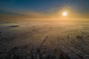 Polluted New Year by Eliud Gil Samaniego, Mexicali, Baja California, Mexico