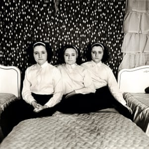Triplets in Their Bedroom, NJ 1963Known for her intimate black and white portraits, Diane Arbus focused on those on the margins of society