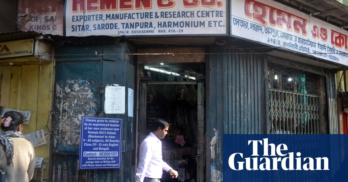 Inside Hemen & Co: the tiny Kolkata sitar shop that supplied the Beatles