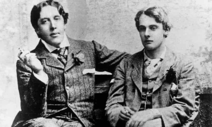 Wilde with Lord Alfred Douglas in Oxford, 1893. Photograph: Getty