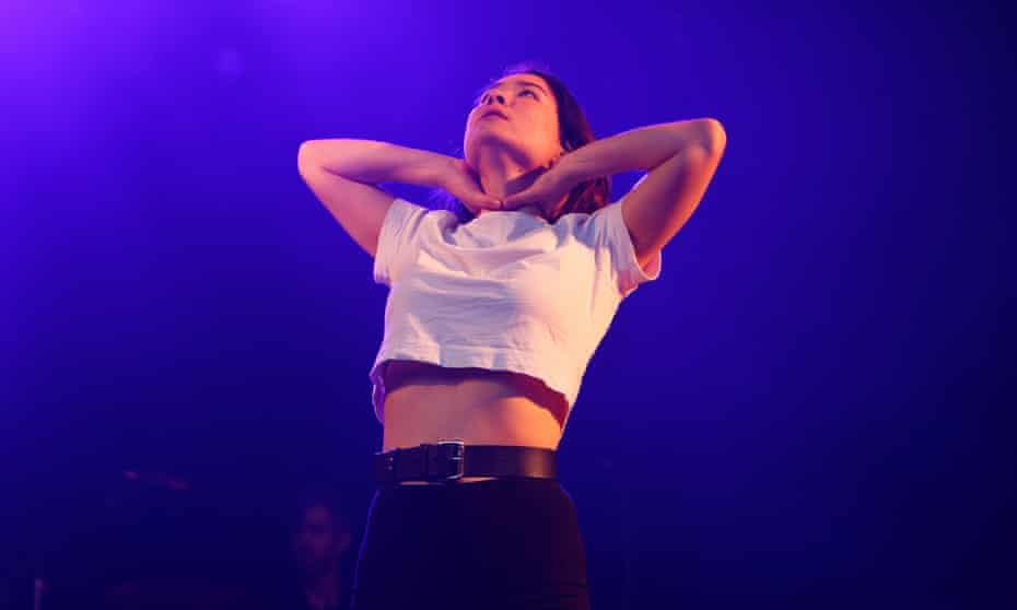'Bridging the arty and incendiary' ... Mitski at End of the Road festival, 30 August 2019.