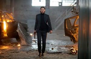 Keanu Reeves as John Wick in the 2014 film.