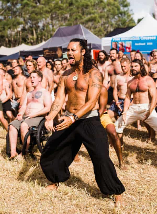 Matiu Te Huki's Sacred Stance workshop at NZ Spirit festival