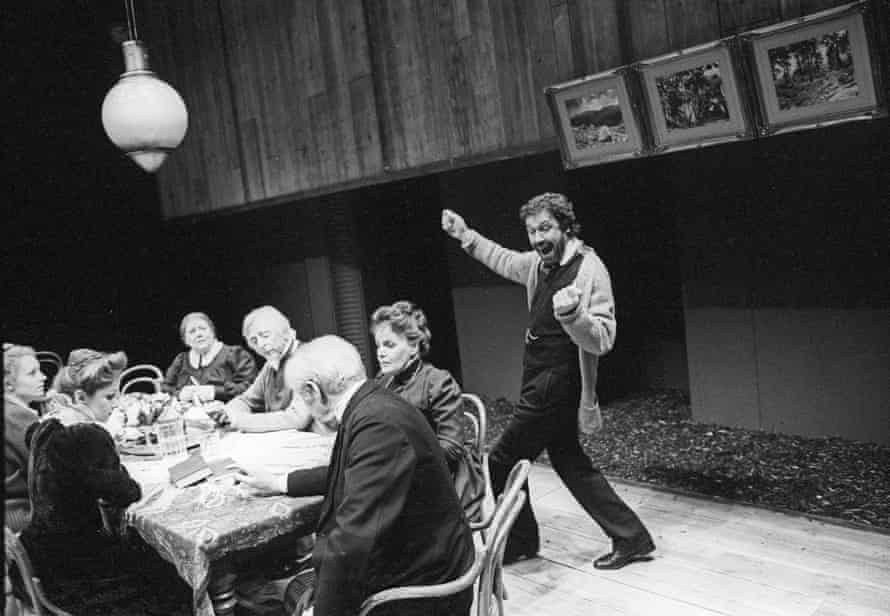 Stephen Rea as Vanya in a version by Frank McGuinness at the Tricycle theatre, London, in 1995.
