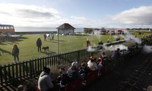The last day of Scotland's oldest miniature steam railway. The Observer reported how Kerr's Miniature Railway in Arbroath has had to close due to falling numbers of visitors.