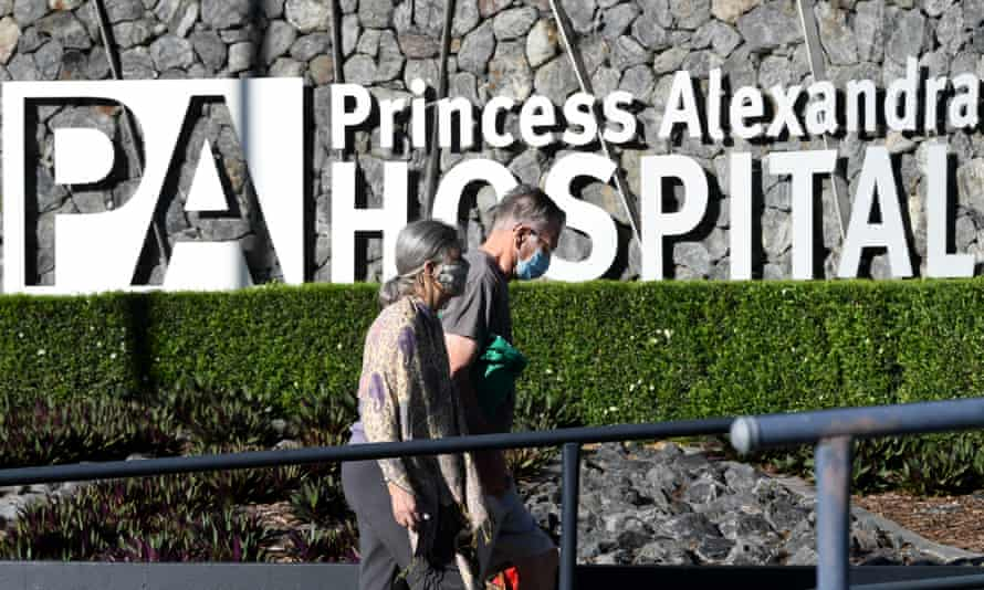 The Princess Alexandra hospital's infectious diseases ward was evacuated last night. Healthcare workers appear to have been infected with Covid on three separate occasions while working at the ward.