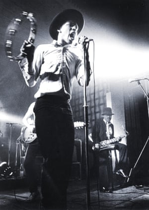 Roger on stage with The Beat in Belgium in 1980