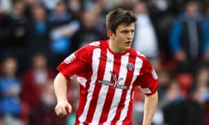 Harry Maguire was player of the year in each of his three seasons at Sheffield United before Hull snapped him up.