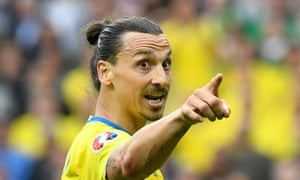 Zlatan Ibrahimovic won 116 caps for Sweden, scoring a record 62 goals in the process.