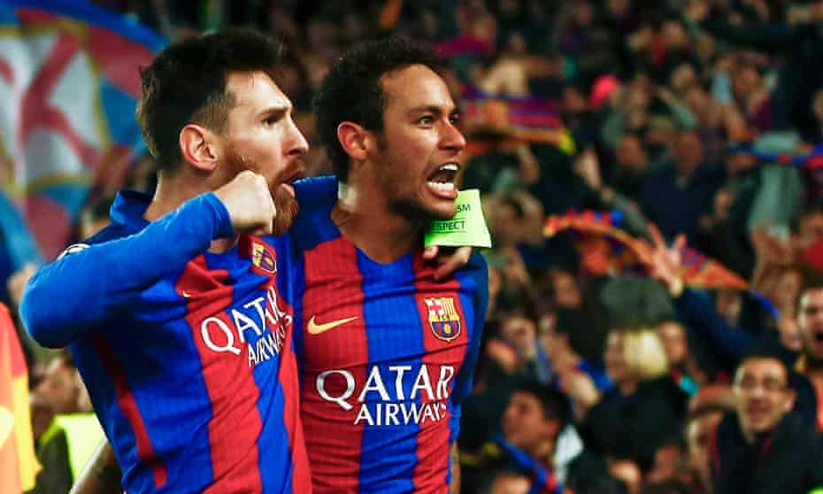 Neymar was supposed to step into the shoes of Lionel Messi at Barcelona but departed for PSG