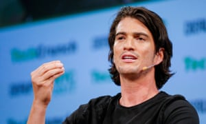 Adam Neumann, outgoing CEO at WeWork.