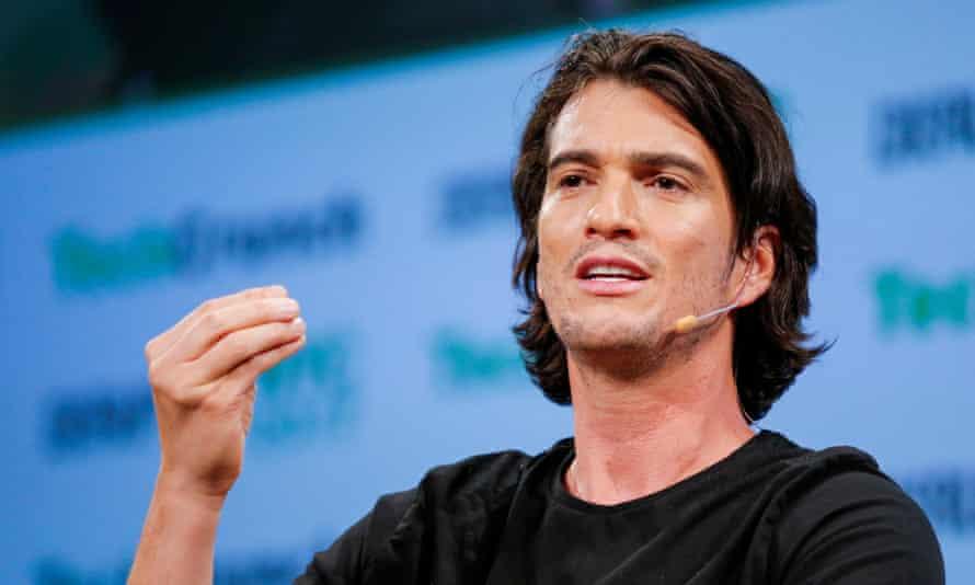 Adam Neumann, CEO of WeWork.